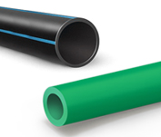 PO (PE-HD , PP, etc.)  pipe systems